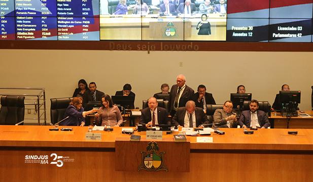 Projeto de Lei 018/2019, que reajusta os vencimentos da categoria em 2,94%, foi aprovado pelo Plenário da Assembleia, com rejeição a emenda que retirava o direito aos reatroativos