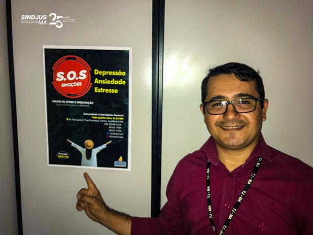 Cledson Aires coordena projeto S.O.S Emoções