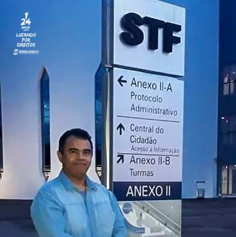 Presidente do Sindjus-MA, Aníbal Lins