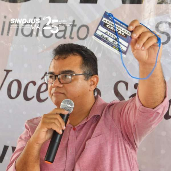 Presidente do Sindjus-MA, Anibal Lins