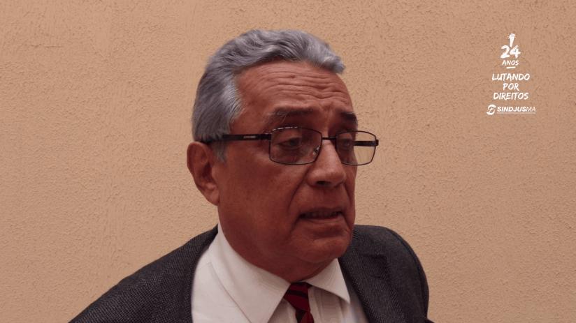 Alcebíades Dantas, advogado do Dep. Jurídico do Sindjus-MA