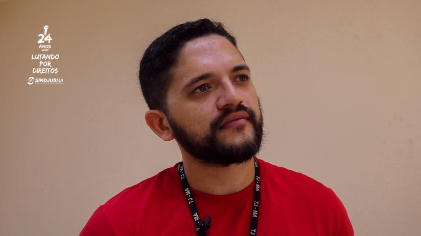 Diretor de Assuntos Jurídicos do Sindjus-MA, Artur Estevam Filho