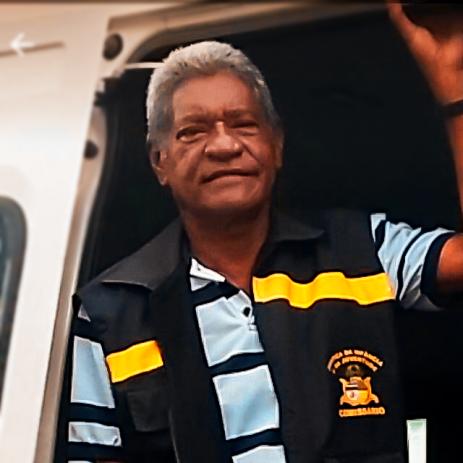 O comissãrio de justiça Cézar Roberto Pimenta Chaves