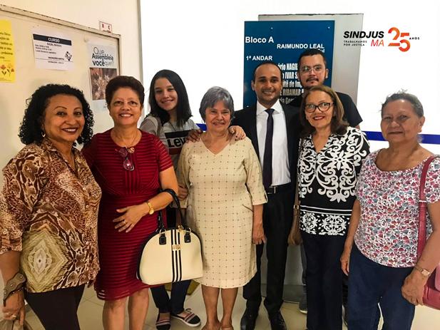 Diretor Financeiro do Sindjus-MA, Fagner Damasceno, também compõs a articulação para aprovação do reajuste das servidoras dos cargos extintos a vagar na Assembleia Legislativa do Maranhão