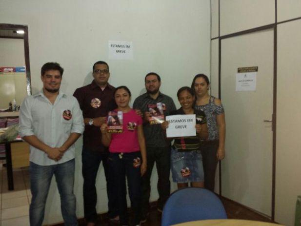 Os servidores da comarca de Paulo Ramos aderiram a GREVE GERAL.