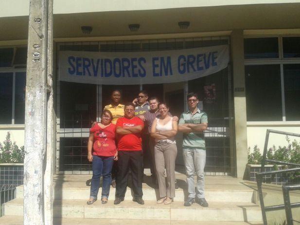 Os servidores da comarca de Esperantinópolis aderiram a GREVE GERAL.