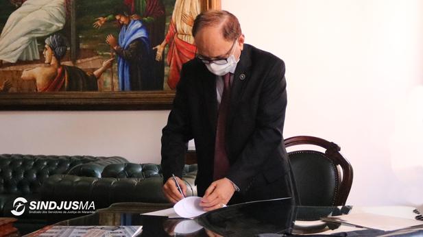 Presidente do TJMA, desembargador Lourival Serejo