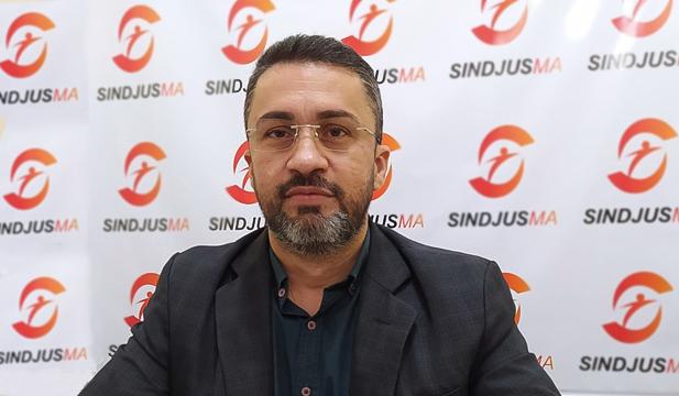 Secretário-geral do Sindjus-Ma, Márcio Luís Andrade, assume exercício da presidência do Sindicato