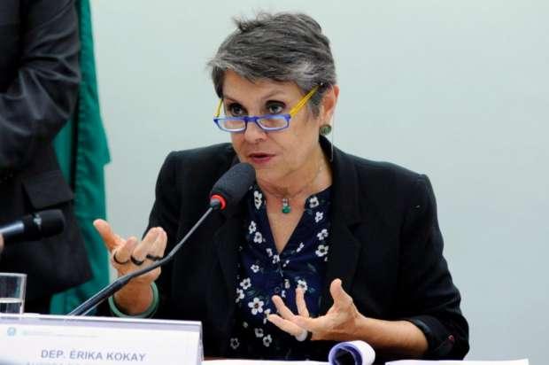 A audiência pública foi conduzida pela deputada federal Erika Kokay (PT-DF). Foto: Cleia Viana/Câmara dos Deputados