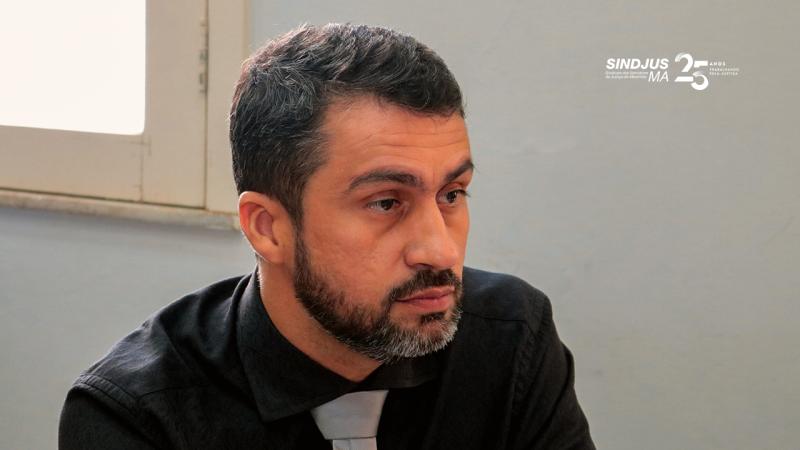 Márcio Luís Andrade, secretário-geral do Sindjus-MA