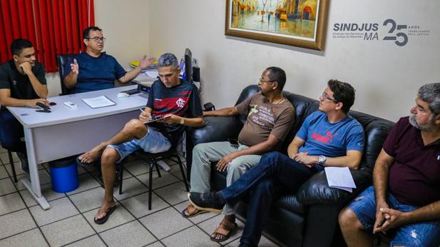 A Comissão de Trabalho do Conselho de Representantes analisou a reivindicação dos servidores durante reunião realizada no último sábado (05), na sede do Sindjus-MA