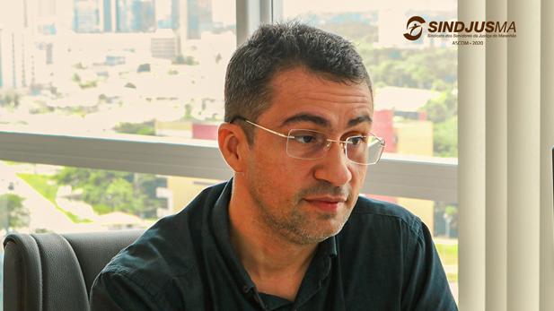 Márcio Luís Andrade, secretário geral do Sindjus-MA