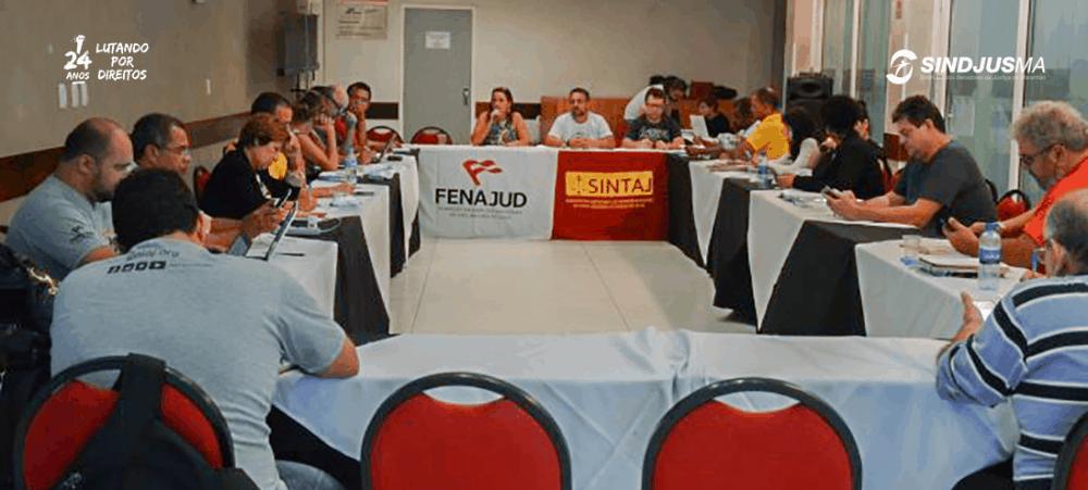 Reunião do Conselho de Representantes da Fenajud foi marcada por retorno de sindicatos