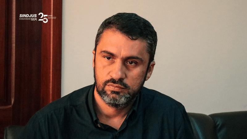 Márcio Luís Andrade, presidente em exercício do Sindjus-MA