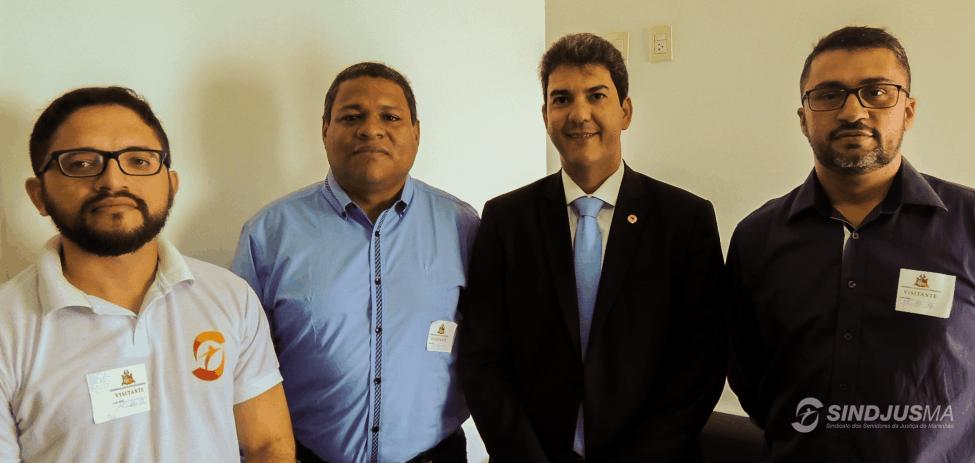 Artur Estevam Filho, Marcos Gilson Amaral, deputado Eduardo Braide e Márcio Luís Andrade Souza