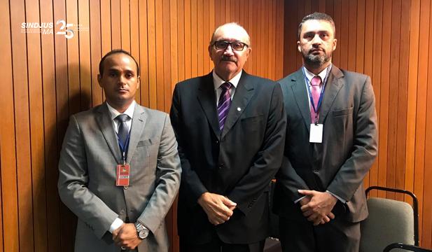 Fagner Damasceno, César Pires e Márcio Andrade