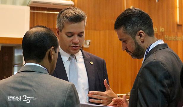 Fagner Damasceno, Neto Evangelista e Márcio Andrade