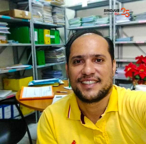 Técnico judiciário Júlio Cesar Macedo
