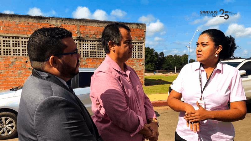 A oficial de justiça Camila Leitão queria informações sobre o concurso público do TJMA