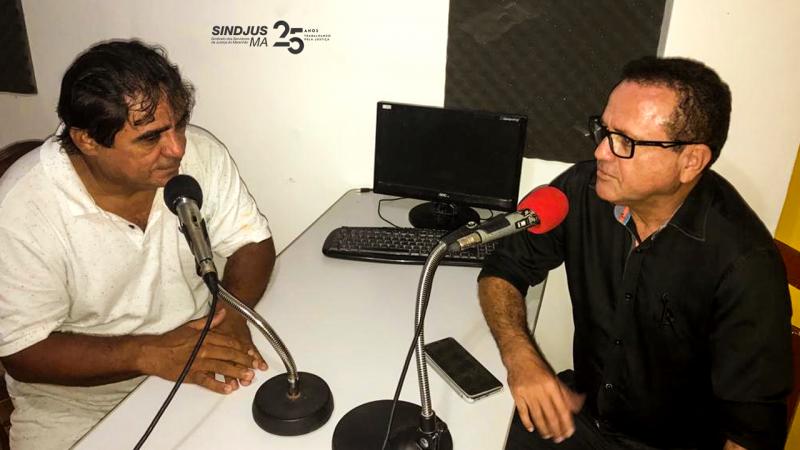 O oficial de justiça Juarez Fontinelle também em entrevista à Rádio Santa Rosa FM