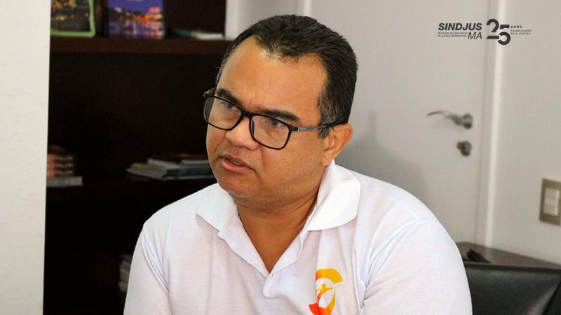 Aníbal Lins, presidente do Sindjus-MA