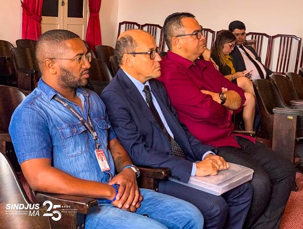 George Ferreira, Pedro Duailibe Mascarenhas e Anibal Lins