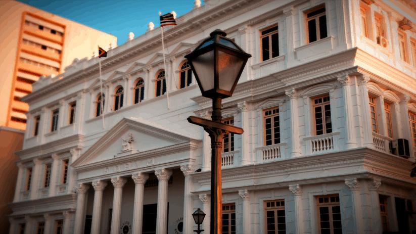 Palácio Clóvis Bevilácqua, na Praça Pedro II, em São Luís, é sede do Tribunal de Justiça do Maranhão