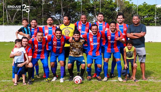 Elenco de jogadores formado por servidores das comarcas de São Luís, Paço do Lumiar, São José de Ribamar, Rosário, Santa Rita, Anajatuba e Barra do Corda