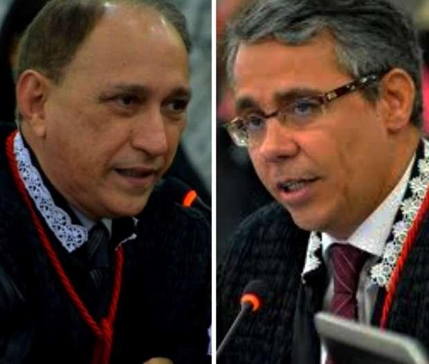 Desembargadores Lourival Serejo e Paulo Velten