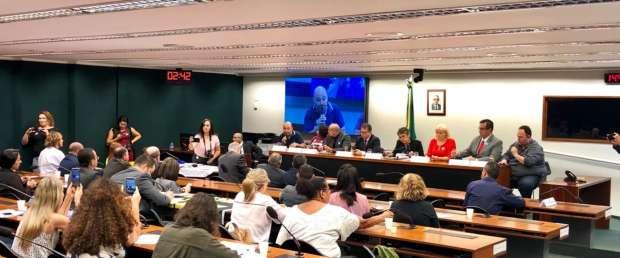 Audiência pública na Comissão de Trabalho da Câmara Federal