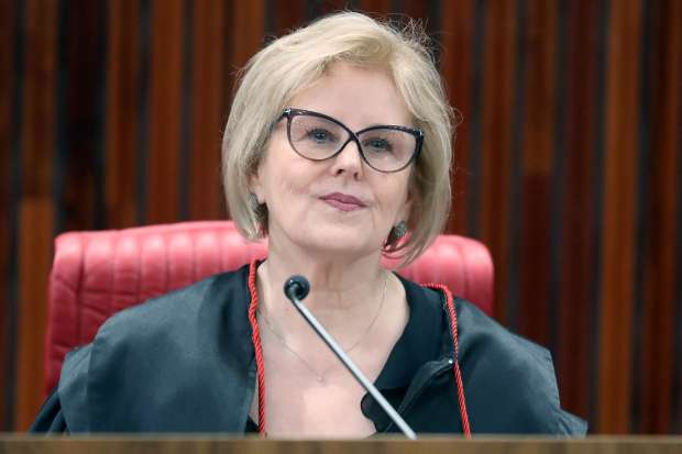 Ministra do STF, Rosa Weber. Reprodução/Internet