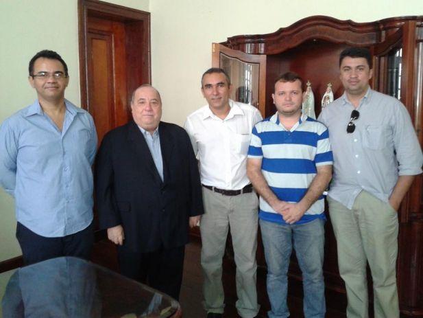 Anibal Lins, Desembargador Guerreiro Júnior, Benilton Brelaz, Fredson Sousa e Márcio Souza