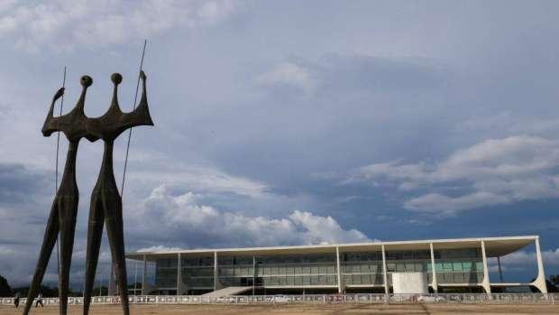 O Palácio do Planalto, em Brasília.  Foto: Alan Santos/PR