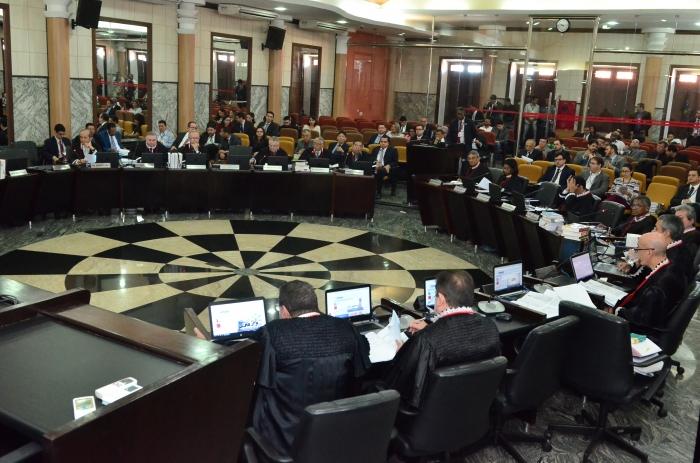 Pleno TJMA. Foto: Arquivo/Sindjus-MA