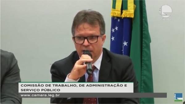 Roberto Eudes, coordenador financeiro da Fenajud