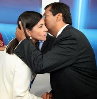 Roseana Sarney e o Governador Flávio Dino.