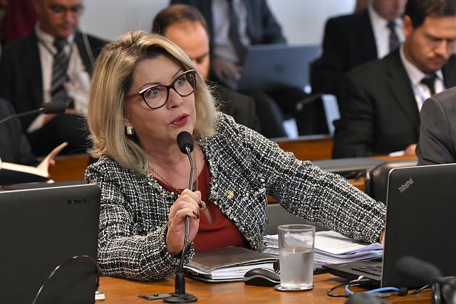 Senadora Juíza Selma (PSL-MT).rrFoto: Geraldo Magela/Agência Senado