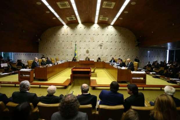 Plenário do STF Foto: ANDRÉ DUSEK / Estadão Conteúdo