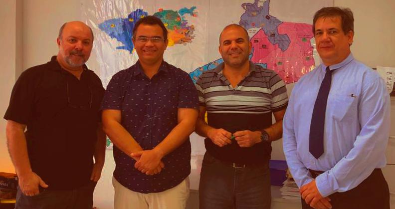 José Carlos Arruda, Aníbal Lins, Alzimar Andrade e Toni Melo